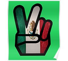 finger mexico Poster