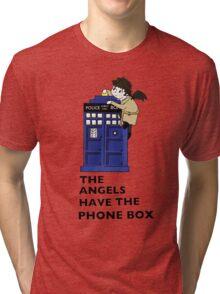 Castiel Has The Phone Box Tri-blend T-Shirt