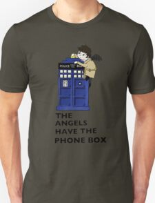 Castiel Has The Phone Box T-Shirt