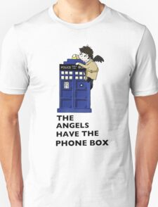 Castiel Has The Phone Box T-Shirt