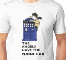 Castiel Has The Phone Box Unisex T-Shirt