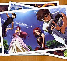 code geass lelouch suzaku pictures anime manga shirt by ToDum2Lov3
