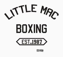 Little Mac Boxing by EvilutionE5150