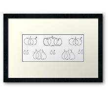 Fruit culture: apples and pears, 1903 Framed Print