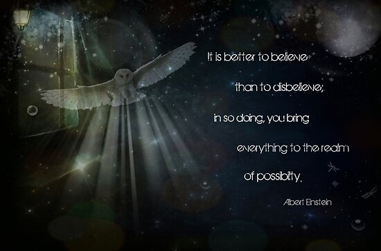 It is better to believe... by Vanessa Barklay