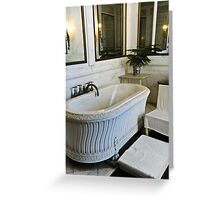 Saltwater Bath Greeting Card