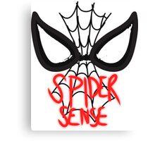 CARTOONS-Spider Sense Canvas Print