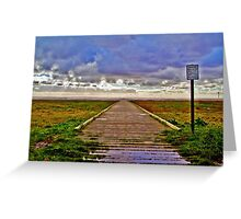 The Jetty - Lytham Greeting Card