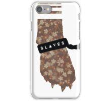 Slaves Cuffed Fox Paws iPhone Case/Skin
