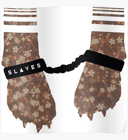 Slaves Cuffed Fox Paws Poster