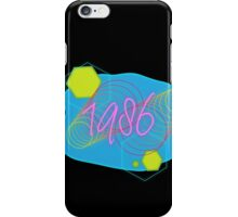 Vaporwave-1986 iPhone Case/Skin