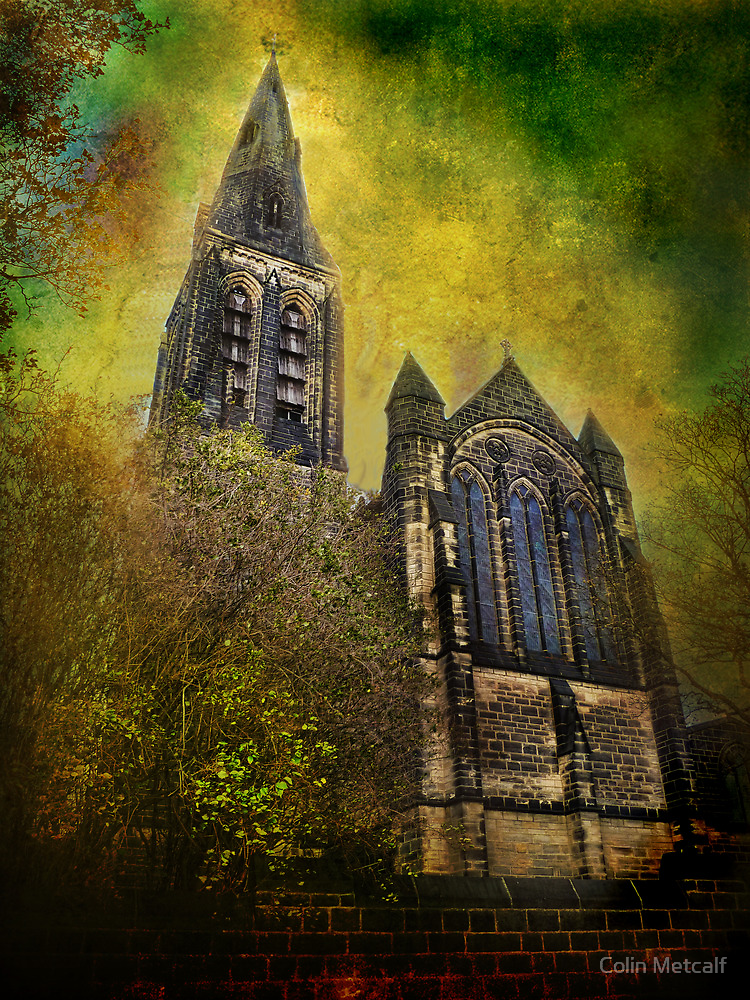 St Margaret's Church, Horsforth. by Colin Metcalf