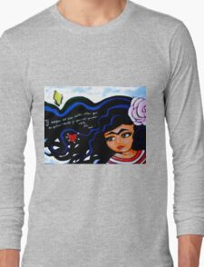 Frida / Mienteme / Lie to Me Long Sleeve T-Shirt