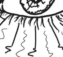 Peaceful Radiant Eye Sticker