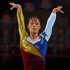 Catalina Ponor painting by PaulMeijering