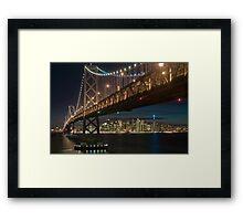 The San Francisco Bay Bridge Framed Print
