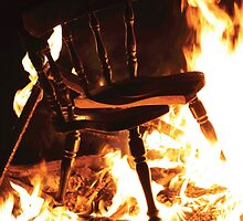 Burning Chair by shortsleeve