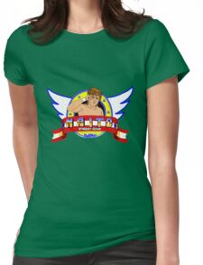Naito the Hedgehog Womens Fitted T-Shirt