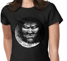 Full moon madness Womens Fitted T-Shirt
