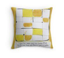 A Yellow Color Throw Pillow