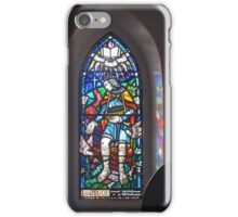 Stained Glass Window - St Andrew's Anglican Church - Jerangle, NSW iPhone Case/Skin