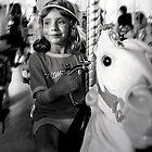 Horsey Ride Bliss by Michael  Herrfurth