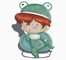 baby frog by TLNOOOO