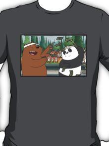 We Bare bears Tha money!! T-Shirt