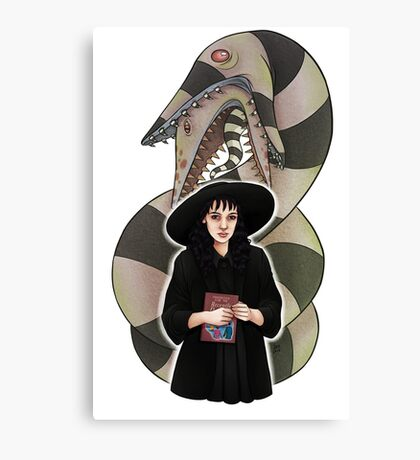 LYDIA (& SANDWORM) || ScarlettDesigns Canvas Print