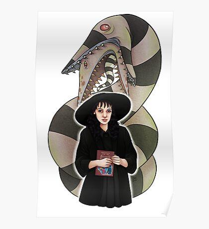 LYDIA (& SANDWORM)    ScarlettDesigns Poster