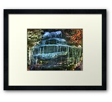 Nature's Layered Cake Framed Print