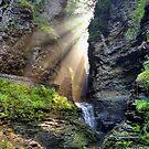 Heaven's Light In Watkins Glen by Gene Walls