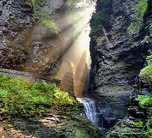 Heaven's Light In Watkins Glen by Gene Walls