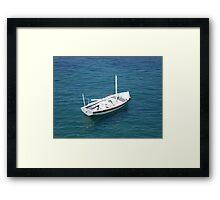 Lone Sailor Framed Print
