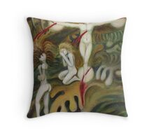 Fall From Grace Throw Pillow