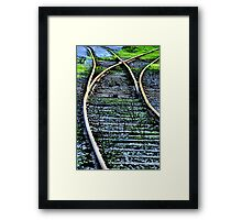 Now Which Way Do I Go? Framed Print