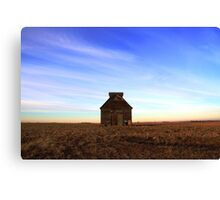 evening on the plains Canvas Print