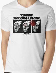 Zombie Survival Guide Mens V-Neck T-Shirt