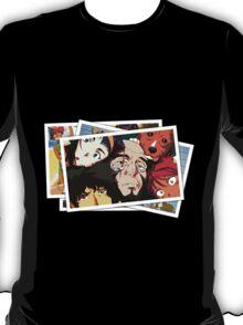 cowboy bebop spike faye jet ed pictures anime manga shirt T-Shirt