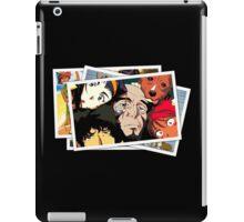 cowboy bebop spike faye jet ed pictures anime manga shirt iPad Case/Skin