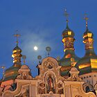 Golden Domes of Kyiv by Kasia Nowak