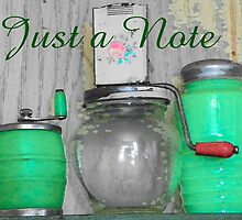 Vintage Green Kitchenware by © Betty E Duncan ~ Blue Mountain Blessings Photography