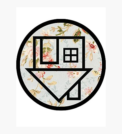 The Neighbourhood (Floral Background) Photographic Print