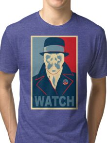 Who is Watching? Tri-blend T-Shirt