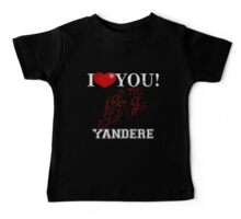 Yandere - I Heart You Baby Tee