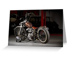 Evolution 1940 WL Harley Greeting Card
