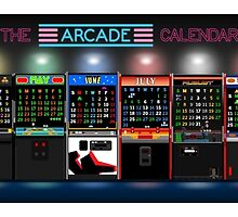 The Arcade Calendar - 2016 by ArtCalLW