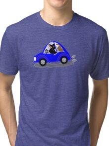 Dachswagon  Tri-blend T-Shirt