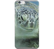 Super Green Sea Turtle iPhone Case/Skin