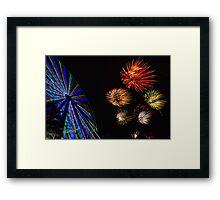 Happy New Year - 2011 Framed Print